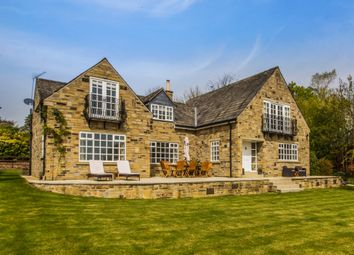 Thumbnail 5 bed detached house for sale in Birks Lane, Woodsome Valley, Huddersfield