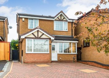 Thumbnail 3 bed detached house for sale in Crowndale Place, Packmoor, Stoke-On-Trent
