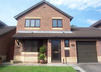 Thumbnail 3 bedroom detached house to rent in Banister Way, Wymondham