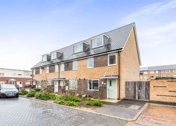 Thumbnail 3 bed town house for sale in Jersey Way, Gosport