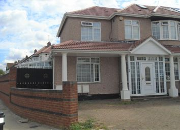 Thumbnail 2 bed semi-detached house to rent in Ascot Gardens, Southall