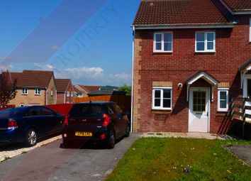 Thumbnail 2 bed end terrace house to rent in Ffordd Melyn Mair, Llansamlet, Swansea