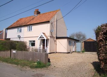 Thumbnail 3 bed semi-detached house for sale in Church Lane, Friston, Saxmundham