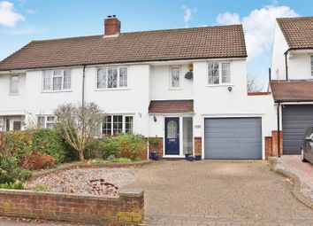 Thumbnail 4 bed semi-detached house for sale in Watford Road, Chiswell Green, St.Albans