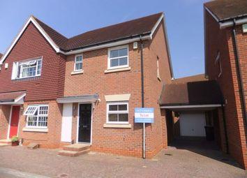 Thumbnail 3 bed end terrace house to rent in Giffard Lane, Fleet