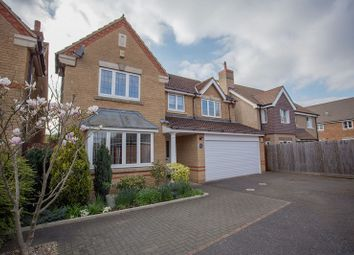 Thumbnail 4 bed detached house for sale in Leiston Court, Eye, Peterborough, Cambridgeshire.