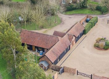 Thumbnail 4 bed barn conversion for sale in Helions Bumpstead Road, Helions Bumpstead, Suffolk