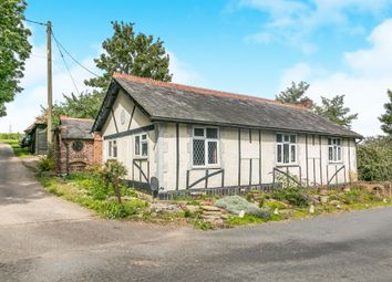 Thumbnail 1 bed detached bungalow for sale in Graves Hall Road, Sible Hedingham, Halstead