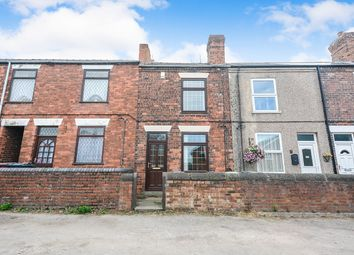 Thumbnail 2 bed semi-detached house to rent in North Street, North Wingfield, Chesterfield