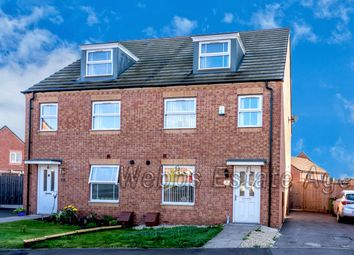 Thumbnail 4 bed semi-detached house for sale in Shropshire Close, Walsall