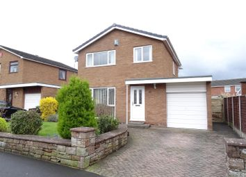 Thumbnail 3 bed detached house for sale in Longdyke Drive, Carlisle