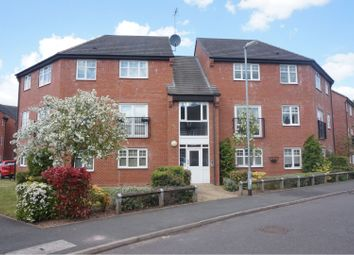 Thumbnail 2 bed flat for sale in Trafalgar Way, Lichfield