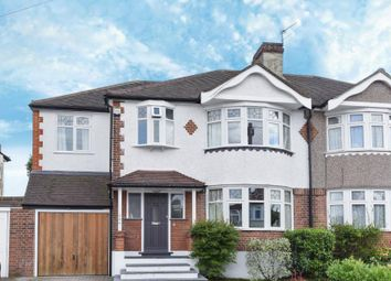 Thumbnail 5 bed semi-detached house for sale in Devonshire Way, Shirley, Croydon