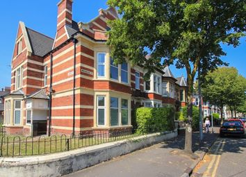 Thumbnail 4 bed end terrace house to rent in Marlborough Road, Roath, Cardiff