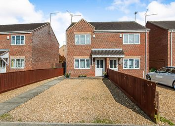 Thumbnail 2 bed semi-detached house for sale in Myles Way, Wisbech