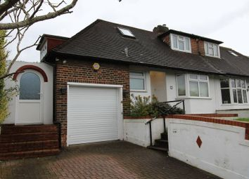 Thumbnail 3 bed bungalow for sale in Downsview Road, London