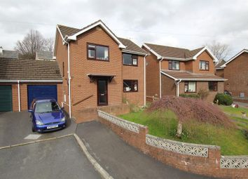 Thumbnail 3 bed link-detached house for sale in Woodlands Crescent, Brecon