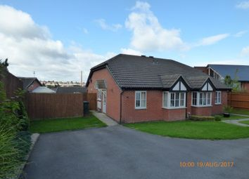 Thumbnail 2 bed semi-detached bungalow to rent in Outram Drive, Swadlincote, Derbyshire