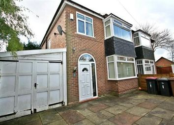 Thumbnail 3 bedroom semi-detached house for sale in Oakmoor Drive, Salford