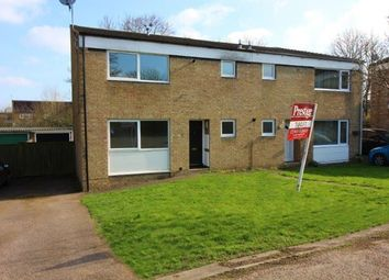 Thumbnail 3 bed semi-detached house to rent in Cottesloe Court, Stony Stratford, Milton Keynes