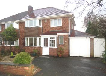 Thumbnail 3 bed semi-detached house for sale in Wirral Mount, West Kirby, Wirral
