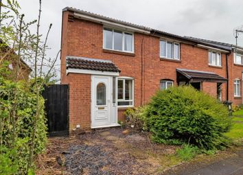 Thumbnail 2 bedroom end terrace house for sale in Longstock Court, Eastleaze, Swindon