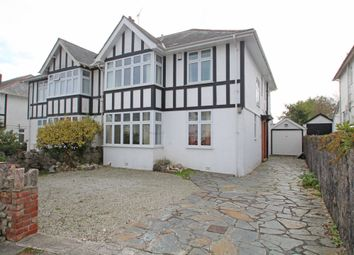Thumbnail 5 bed semi-detached house for sale in Hartley Park Gardens, Hartley, Plymouth