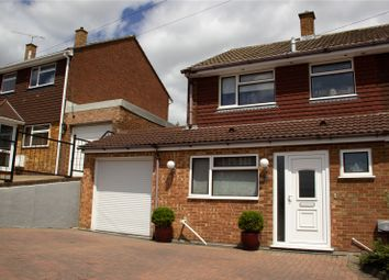 Thumbnail 3 bed semi-detached house for sale in Rochester Crescent, Hoo, Rochester, Kent