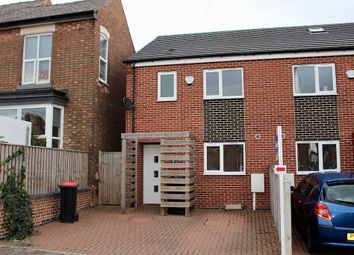 Thumbnail 3 bed semi-detached house to rent in City Road, Beeston