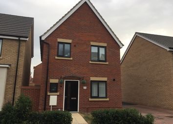 Thumbnail 3 bed detached house for sale in Peter Pulling Drive, Costessey, Norwich