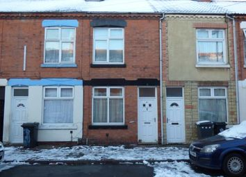 Thumbnail 2 bedroom terraced house for sale in Stuart Street, Westcotes, Leicester, Leicestershire