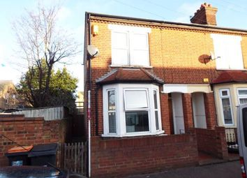 Thumbnail 3 bed end terrace house for sale in Hawkins Road, Bedford, Bedfordshire
