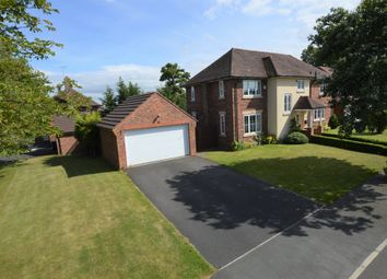 Thumbnail 4 bed detached house for sale in Little Roodee, Hawarden, Deeside