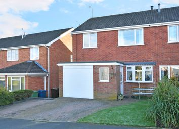 Thumbnail 3 bed semi-detached house for sale in Trinity Road, Eccleshall
