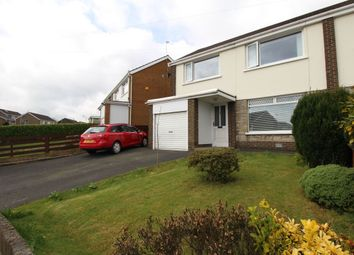 Thumbnail 3 bed semi-detached house for sale in Alexandra Gardens, Bangor