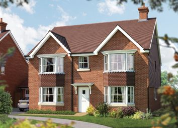 "Thumbnail 5 bed detached house for sale in ""The Winchester"" at Plough Lane, Petersfield"
