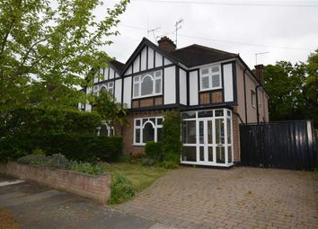 Thumbnail 4 bed semi-detached house for sale in Berceau Walk, Watford, Herts