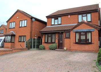 Thumbnail 4 bed detached house for sale in Penryn Close, Nuneaton, Warwickshire