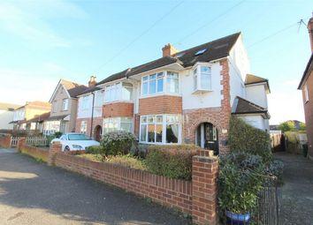 Thumbnail 5 bed semi-detached house for sale in Marlborough Road, Ashford, Surrey