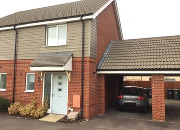 Thumbnail 2 bed semi-detached house for sale in Vickers Way, Upper Cambourne, Cambridge