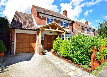 Thumbnail 4 bed detached house for sale in Crawfords, Hextable, Kent