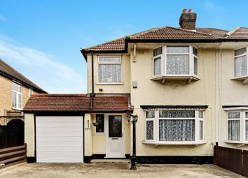 Thumbnail 3 bedroom semi-detached house for sale in Limpsfield Road, South Croydon
