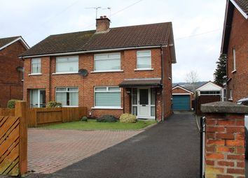 Thumbnail 3 bedroom semi-detached house for sale in North Sperrin, Knock, Belfast
