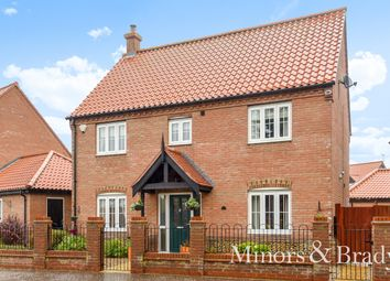 Thumbnail 4 bed detached house for sale in Waters Lane, Hemsby, Great Yarmouth