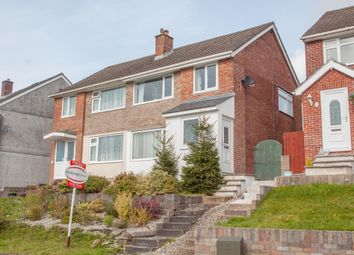 Thumbnail 3 bedroom semi-detached house for sale in Highclere Gardens, Plymouth