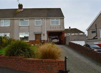 Thumbnail 4 bed semi-detached house for sale in Gabalfa Road, Swansea