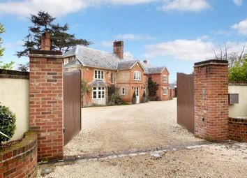 Thumbnail 6 bed detached house for sale in Reading Road, Heckfield, Hook
