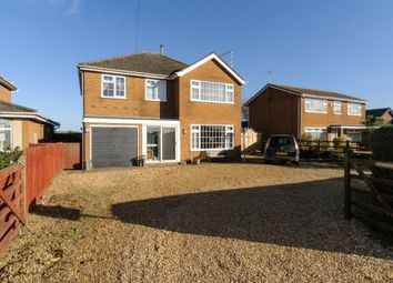 Thumbnail 4 bed detached house for sale in Austendyke Road, Weston Hills, Spalding