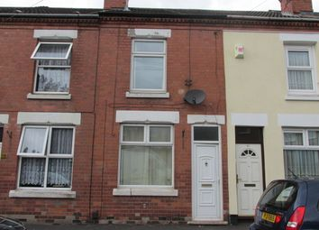 Thumbnail 3 bedroom terraced house to rent in Coronation Road, Hillfields, Coventry