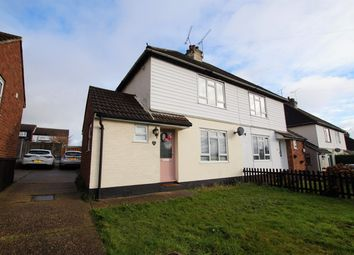 Thumbnail 3 bed semi-detached house for sale in Hambro Hill, Rayleigh